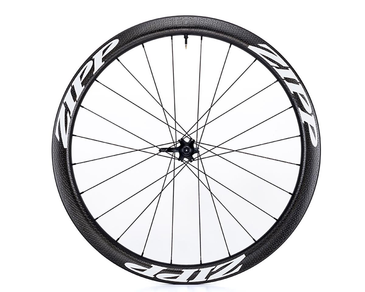 303 Firecrest Carbon Clincher Tubeless Disc Brake Front Wheel