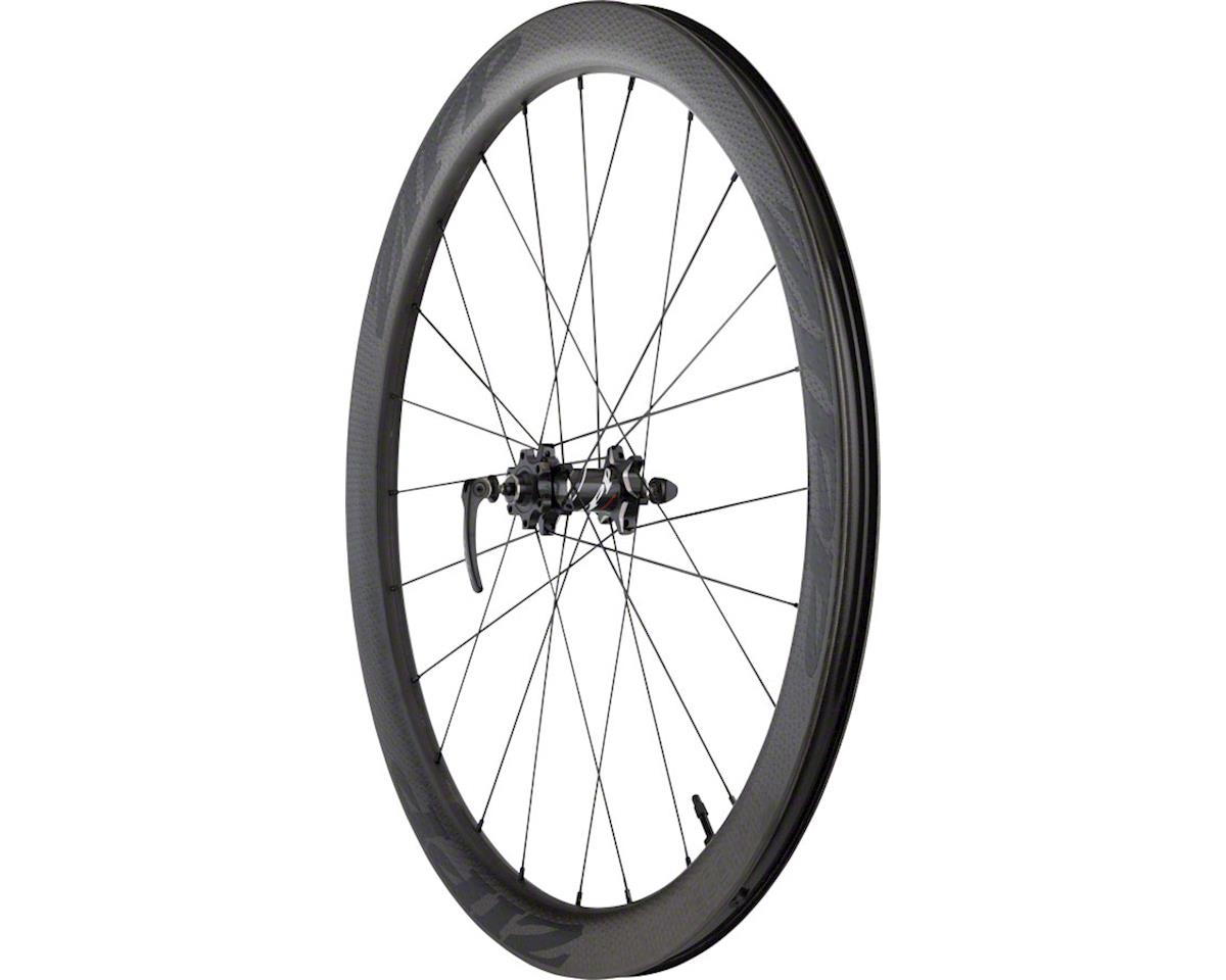 SRAM 303 Carbon Clincher Tubeless Front Wheel (Black Decal) (700c) (6-Bolt Disc)
