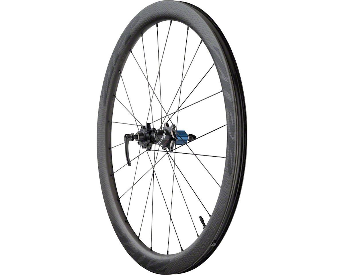 SRAM 303 Carbon Clincher Tubeless Rear Wheel (Black Decal) (700c) (6-Bolt Disc)