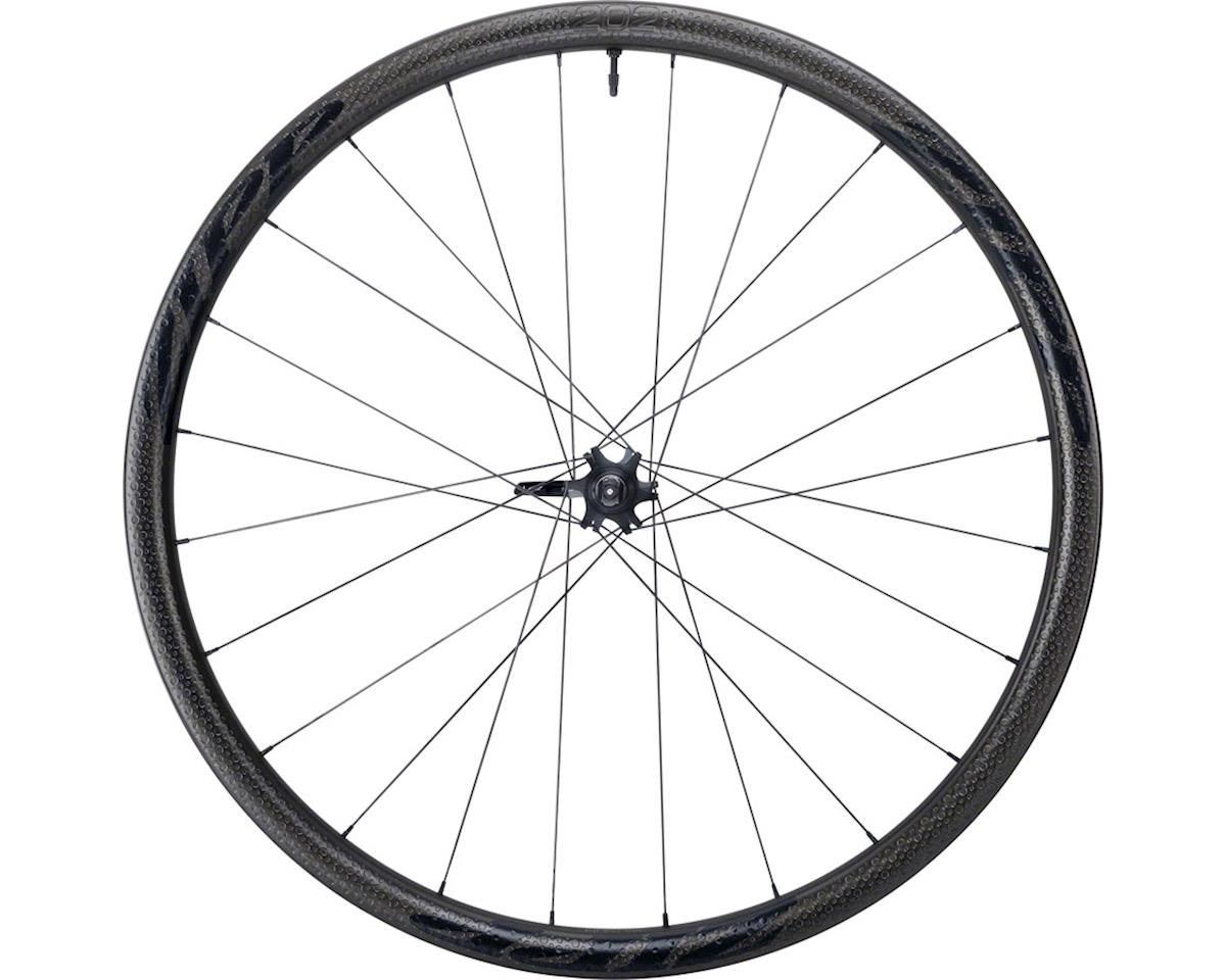 Zipp 202 Firecrest Carbon Clincher Tubeless Front Wheel (700c) (6-Bolt Disc)