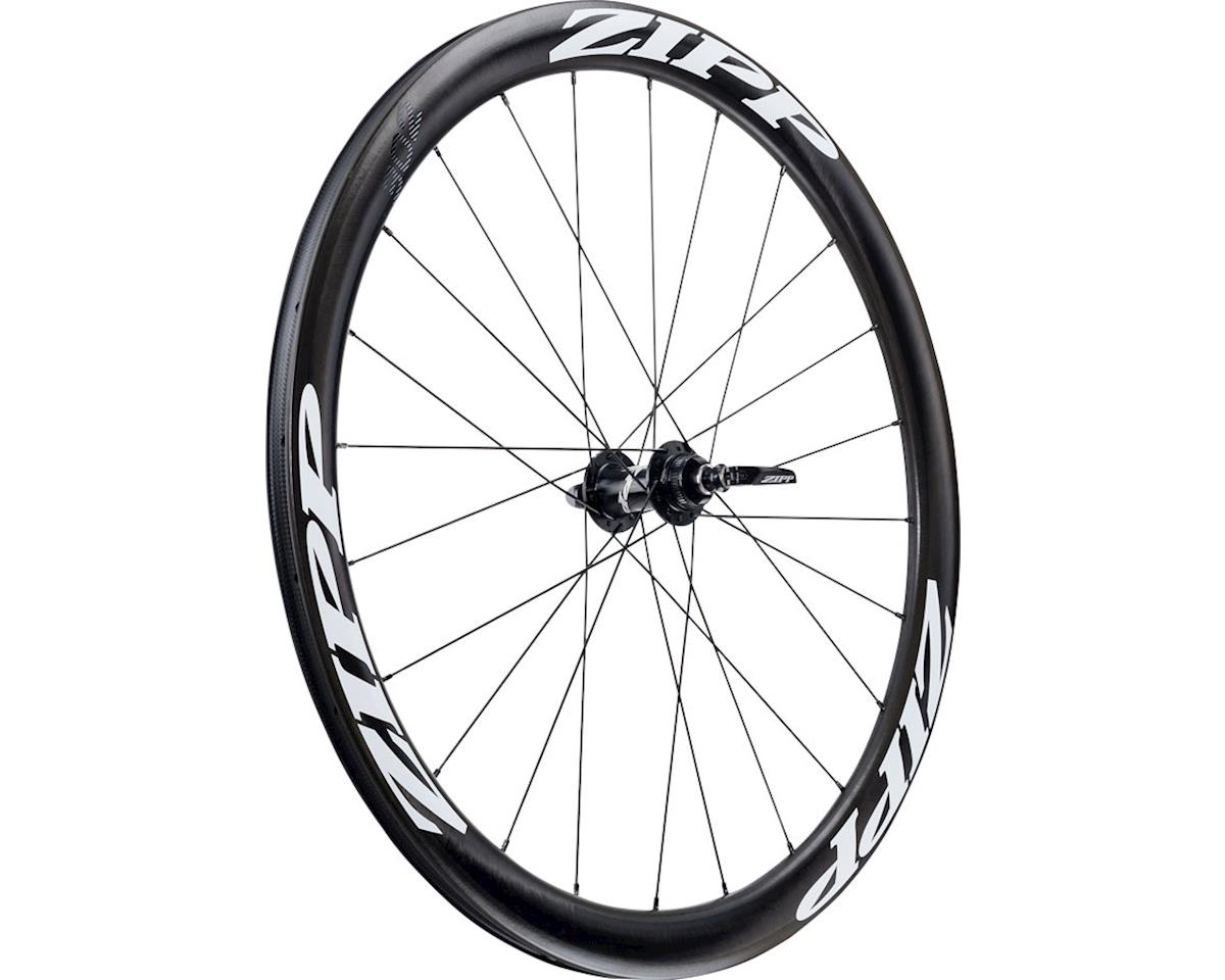 SRAM 302 Carbon Clincher Front Wheel (White Decal) (700c) (Centerlock Disc)