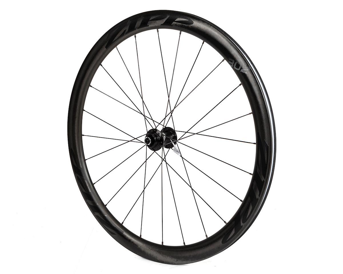 Zipp 302 Carbon Clincher Front Wheel (Black Decal) (700c) (Centerlock Disc)