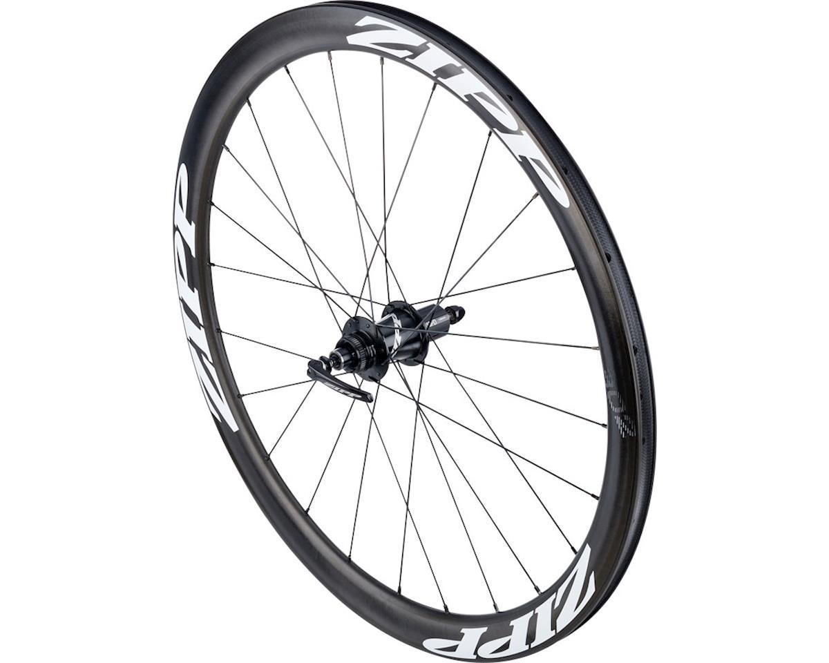 SRAM 302 Carbon Clincher Rear Wheel (White Decal) (700c) (Centerlock Disc)