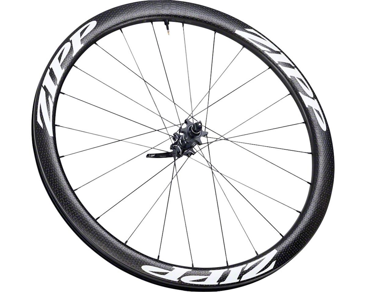 Zipp 303 Carbon Tubeless Front Wheel (650b) (6-Bolt Disc)