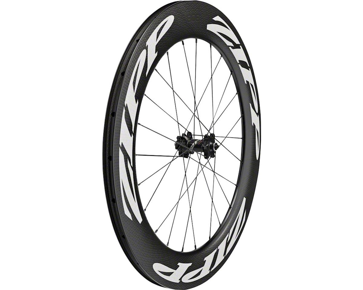 Zipp 808 Firecrest Carbon Tubeless Front Wheel (700c) (6-Bolt Disc)