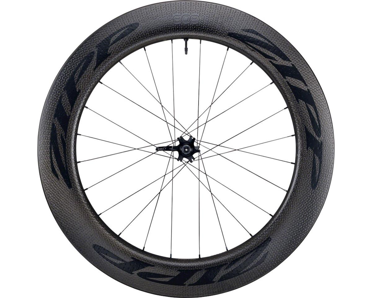 Zipp 808 Firecrest Carbon Clincher Tubeless Front Wheel (700c) (6-Bolt Disc)