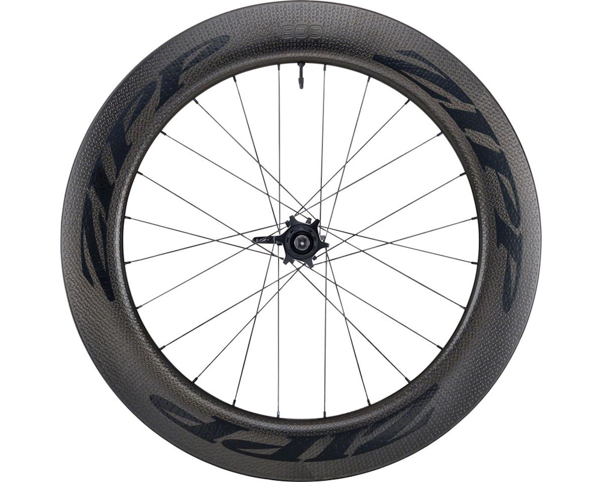 Zipp 808 Carbon Clincher Tubeless Rear Wheel (700c) (6-Bolt Disc)