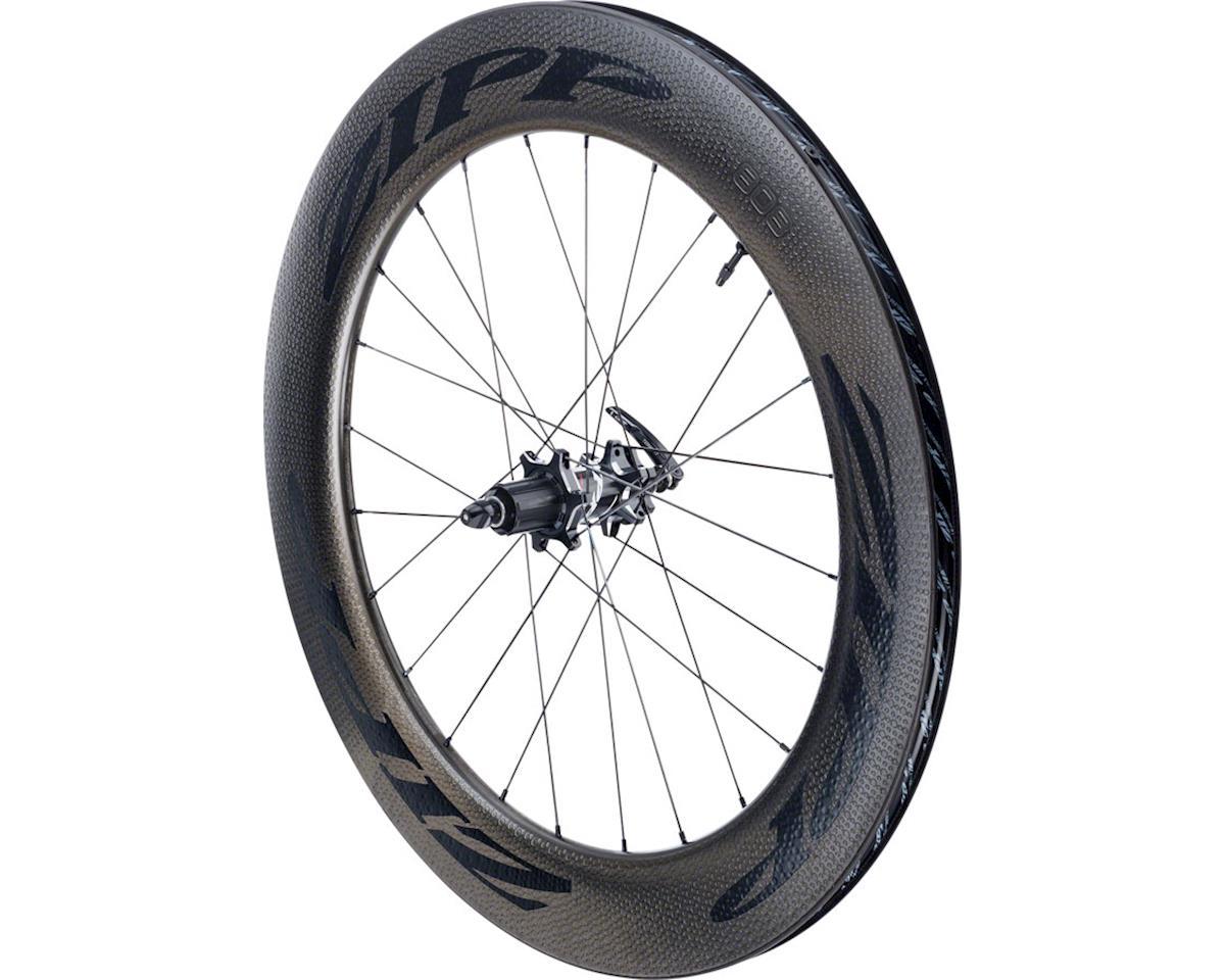 SRAM 808 Carbon Clincher Tubeless Rear Wheel (700c) (6-Bolt Disc)