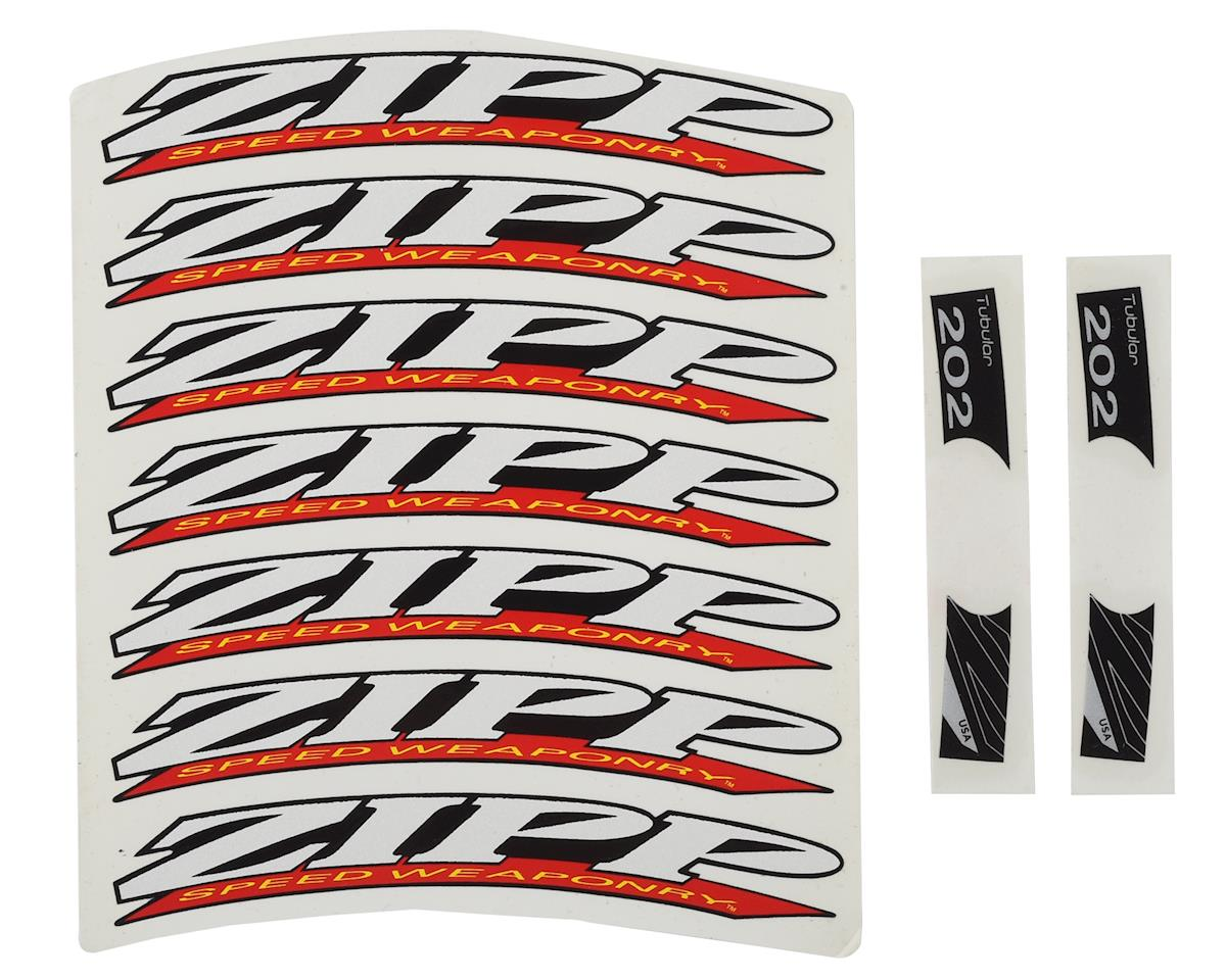 Zipp Decal Set (202 Wheel Pre-2008) (Complete for One Wheel)