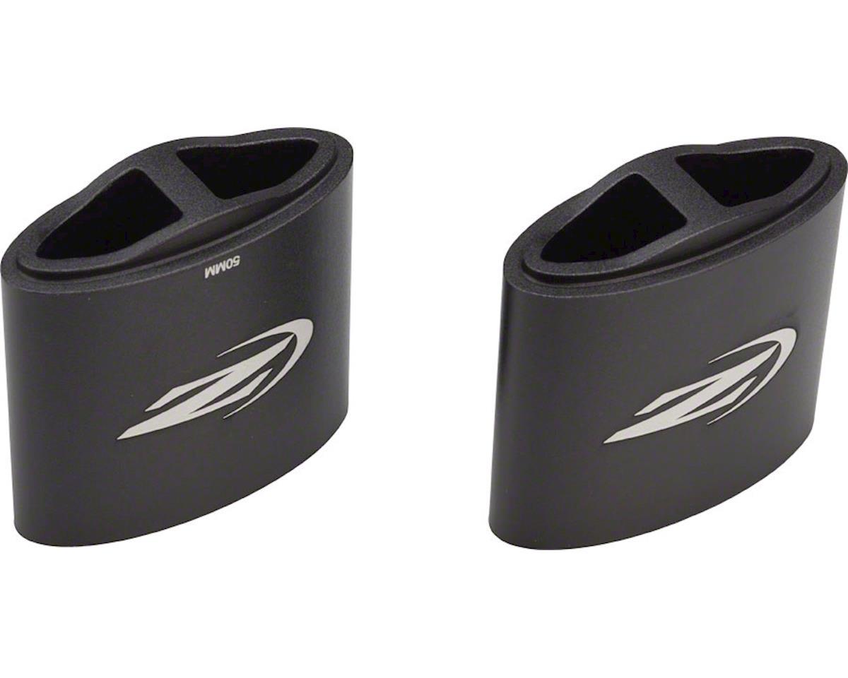 Zipp Vuka Aero/Stealth Riser Kit (Black) (50mm) (Bolts sold separately)