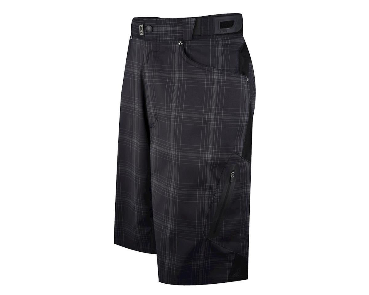 ZOIC Clothing Zoic Ether Plaid Shorts (Black/White)