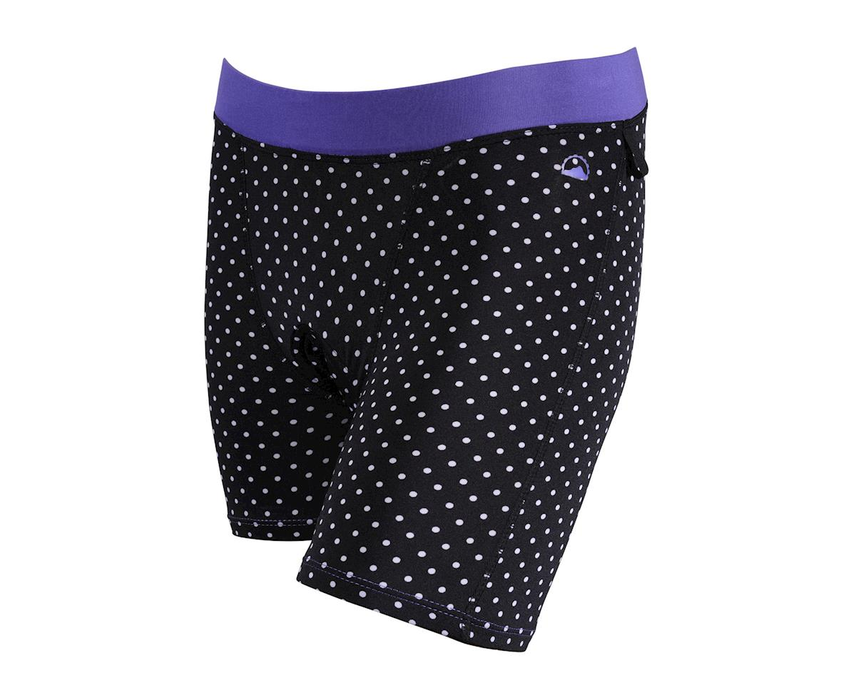 Zoic Clothing Zoic Women's Essential Prints Liner Shorts (Black/White)