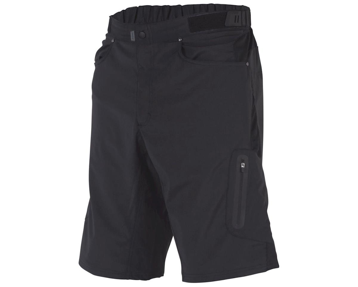 ZOIC Clothing Ether 9 + Essential Liner Short (Black) (M)