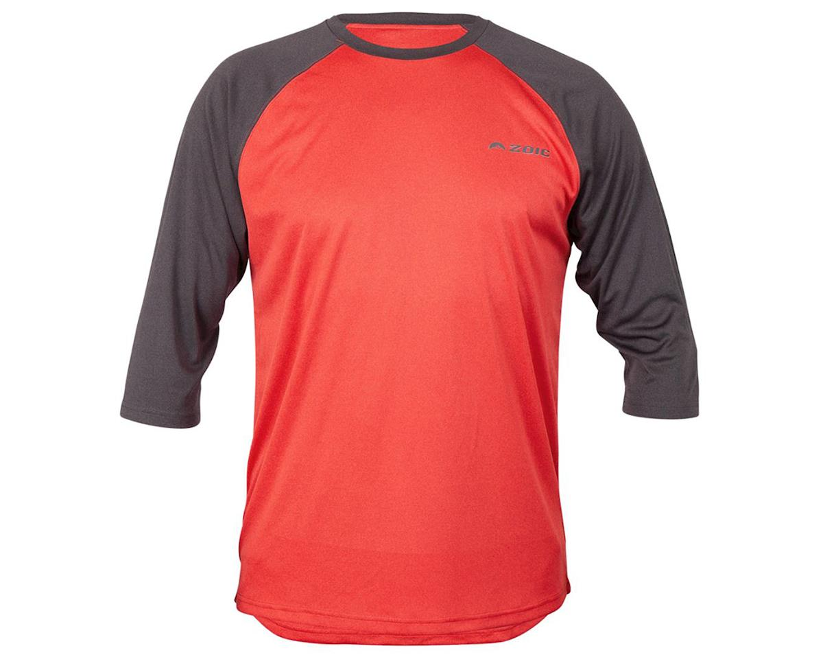 ZOIC Clothing Dialed 3/4 Jersey (Nova/Dark Grey) (L)