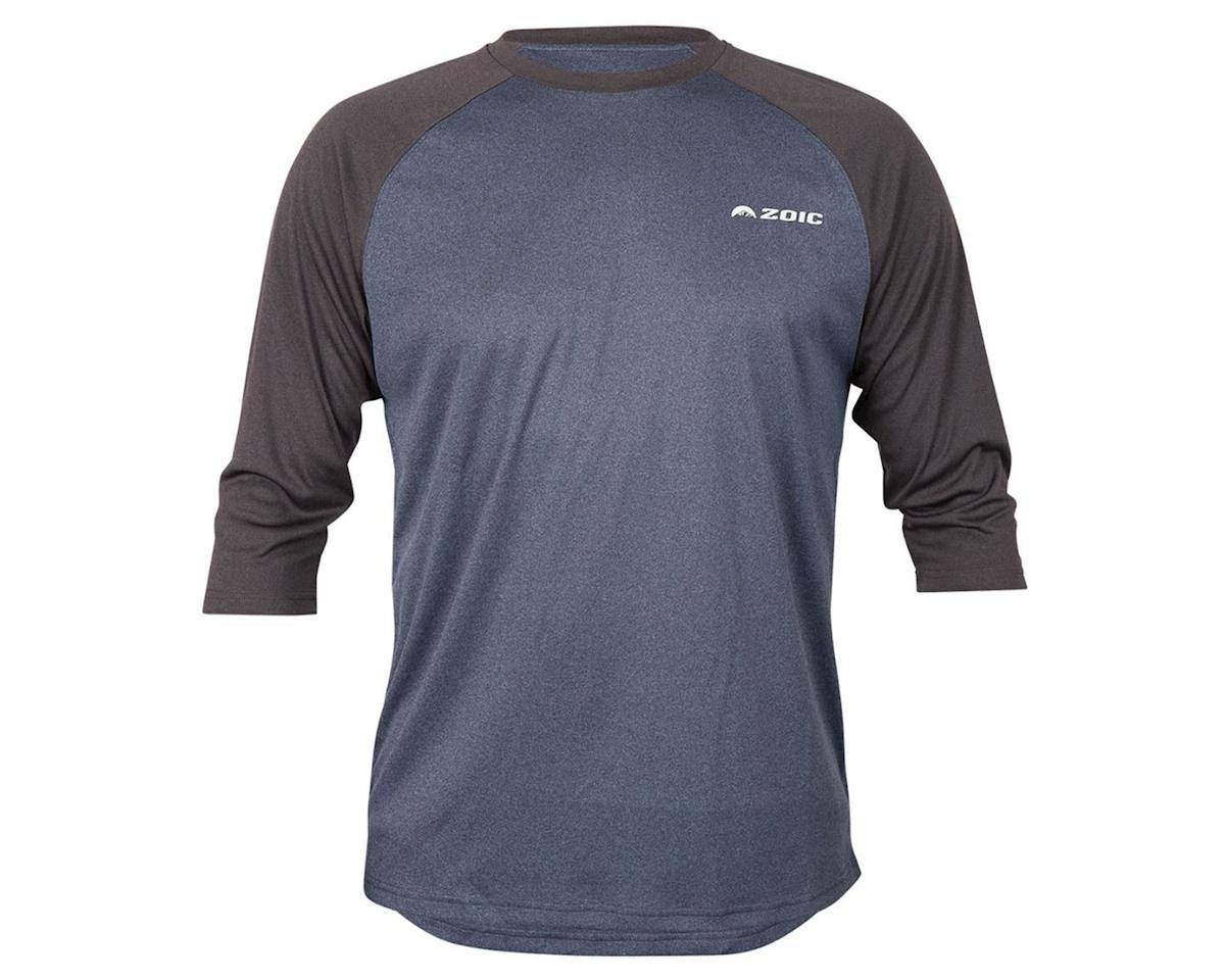 ZOIC Clothing Dialed 3/4 Jersey (Navy/Dark Grey) (L)