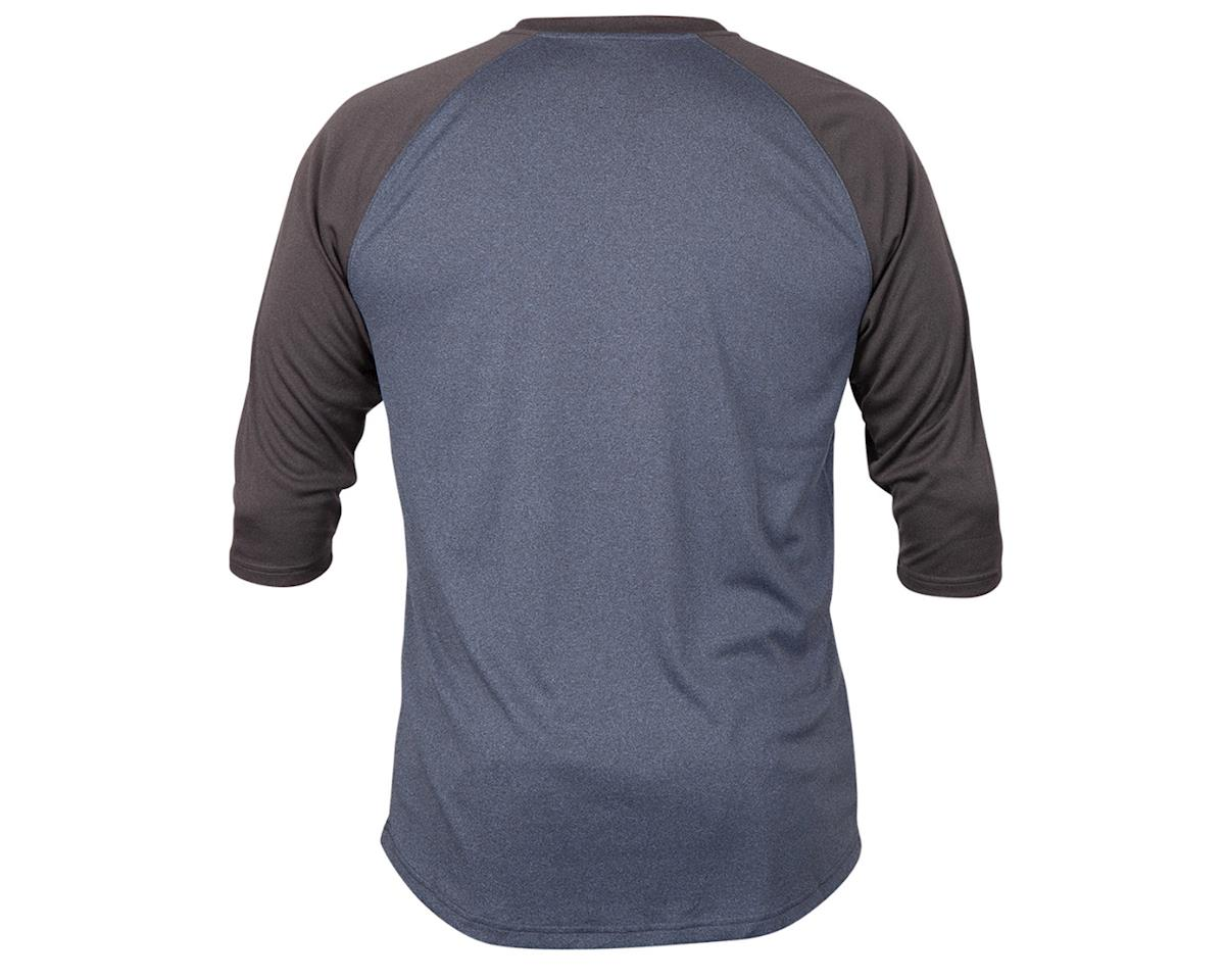 Image 2 for ZOIC Clothing Dialed 3/4 Jersey (Navy/Dark Grey) (L)