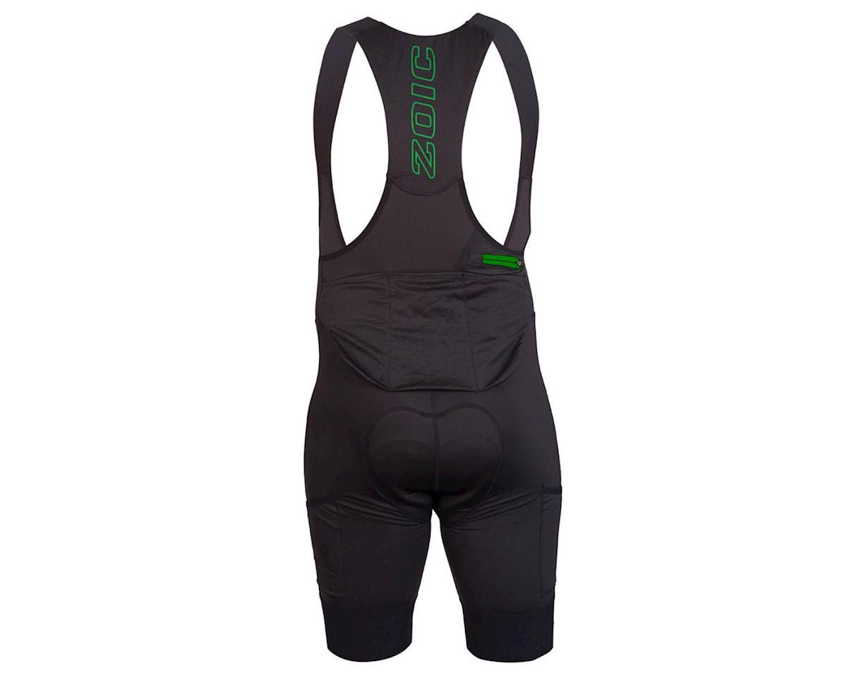 Image 2 for ZOIC Clothing Carbon Bib Liner (Black) (S)