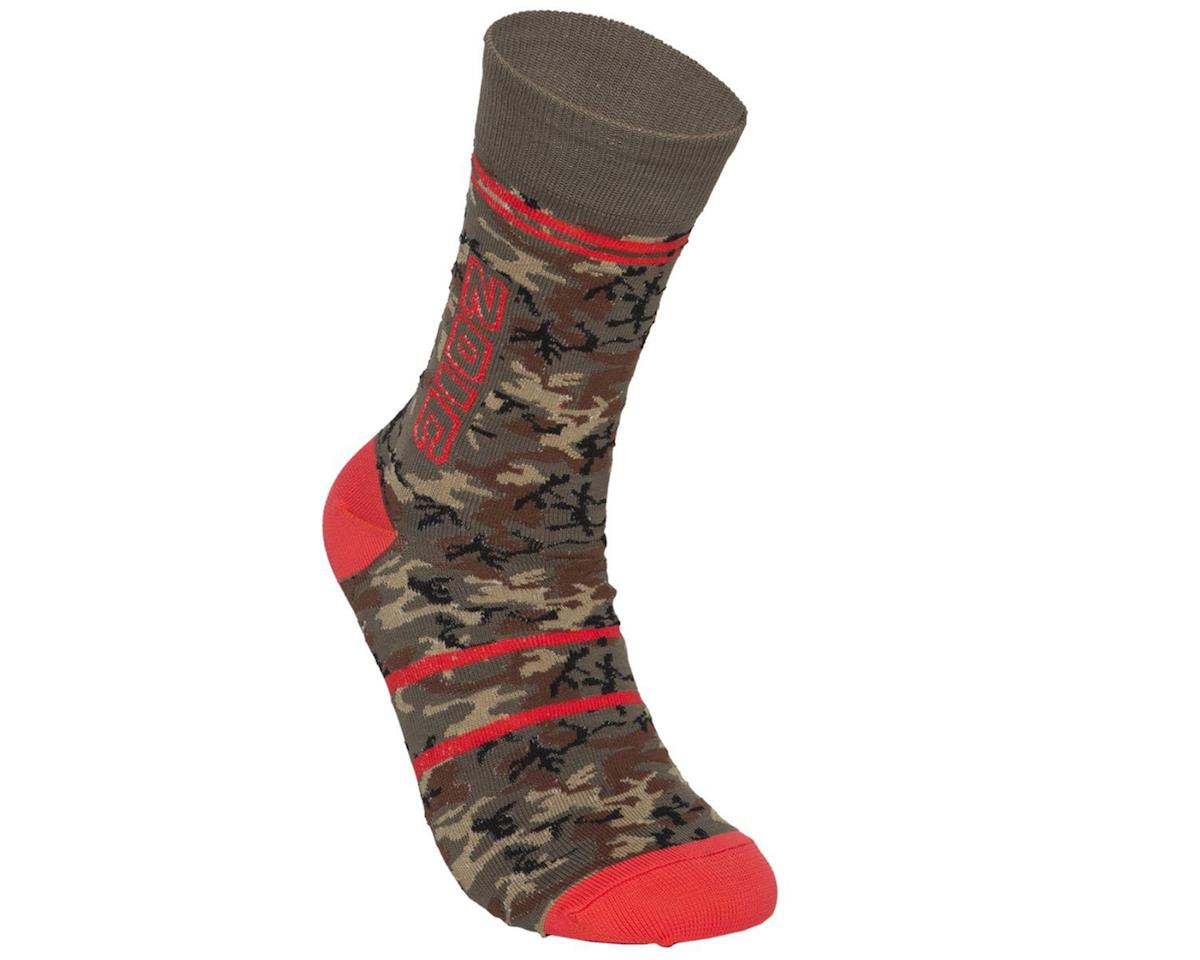 ZOIC Clothing Camo Sock (GreenCamo) (S/M)