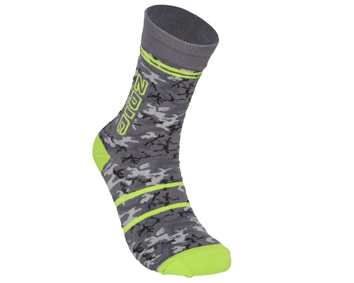 ZOIC Clothing Camo Sock (GreyCamo) (L/XL)