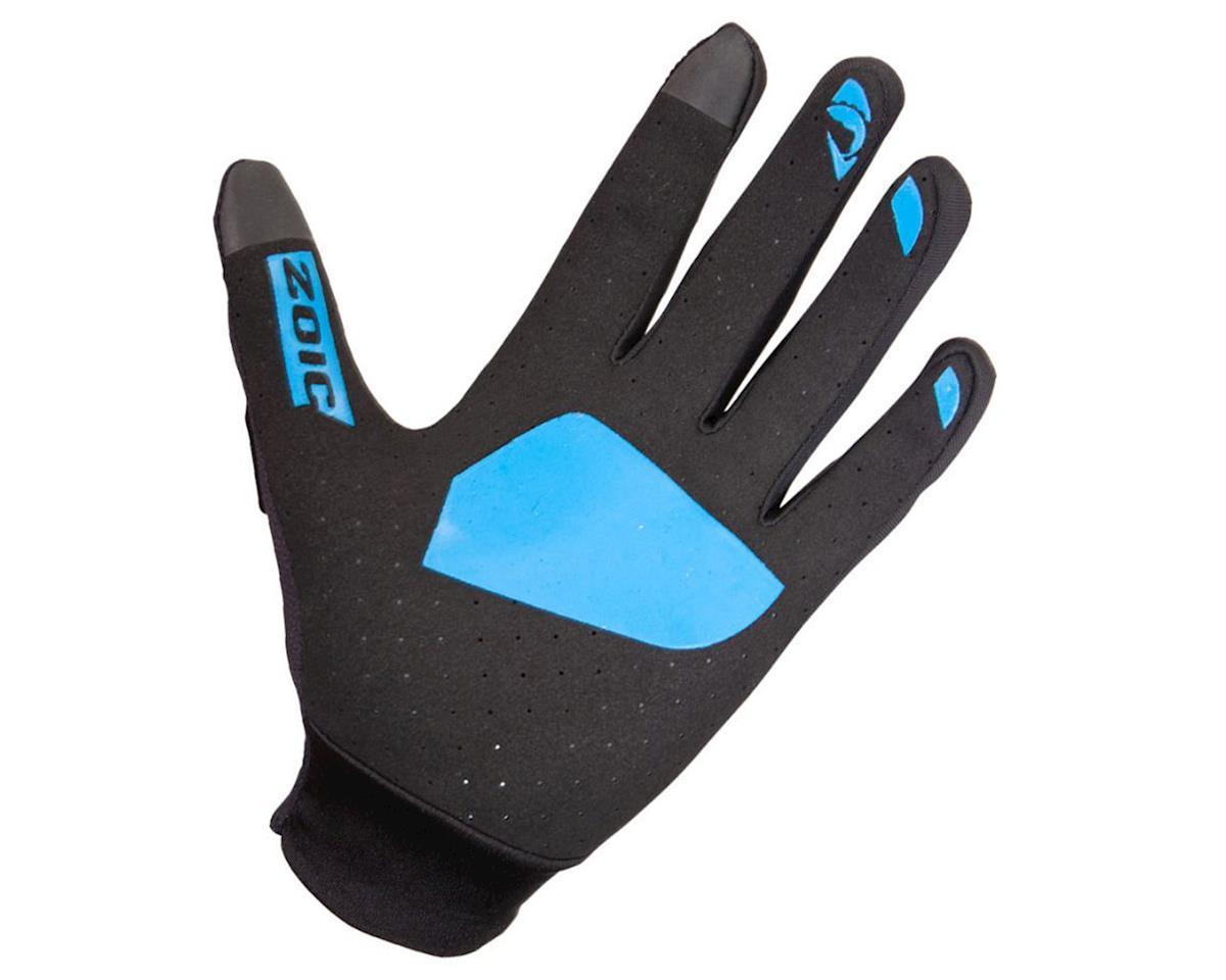 Image 2 for ZOIC Clothing Ether Gloves (Black/Azure) (L)