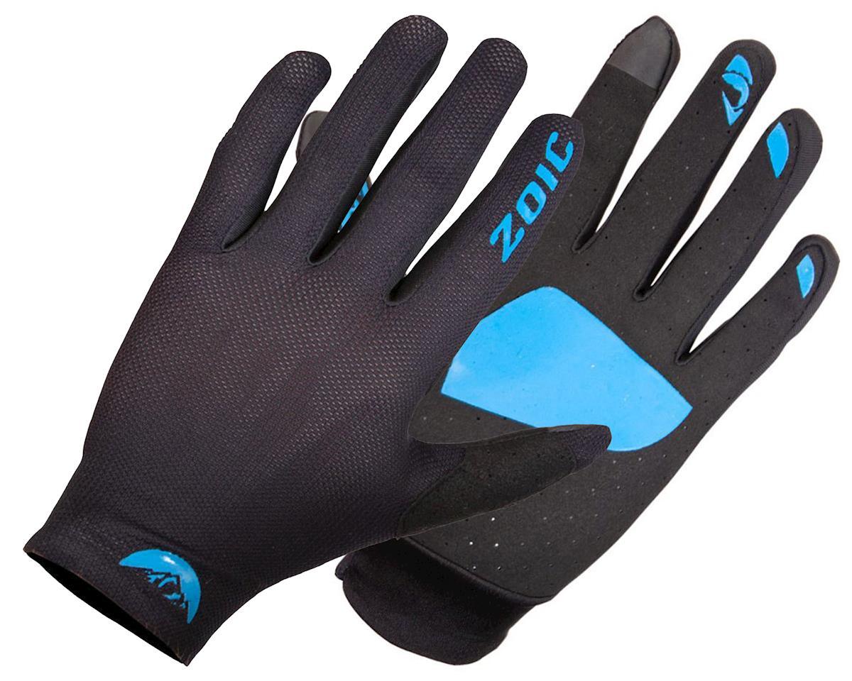 Image 1 for ZOIC Clothing Ether Gloves (Black/Azure) (M)