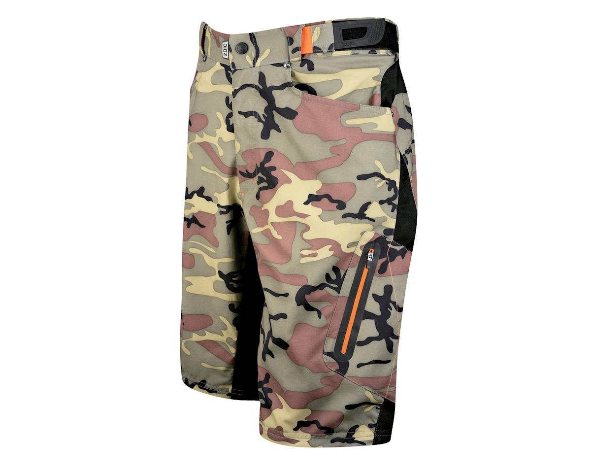 Zoic Ether Camo Shorts w/ Liner (Camouflage) (Xxlarge)