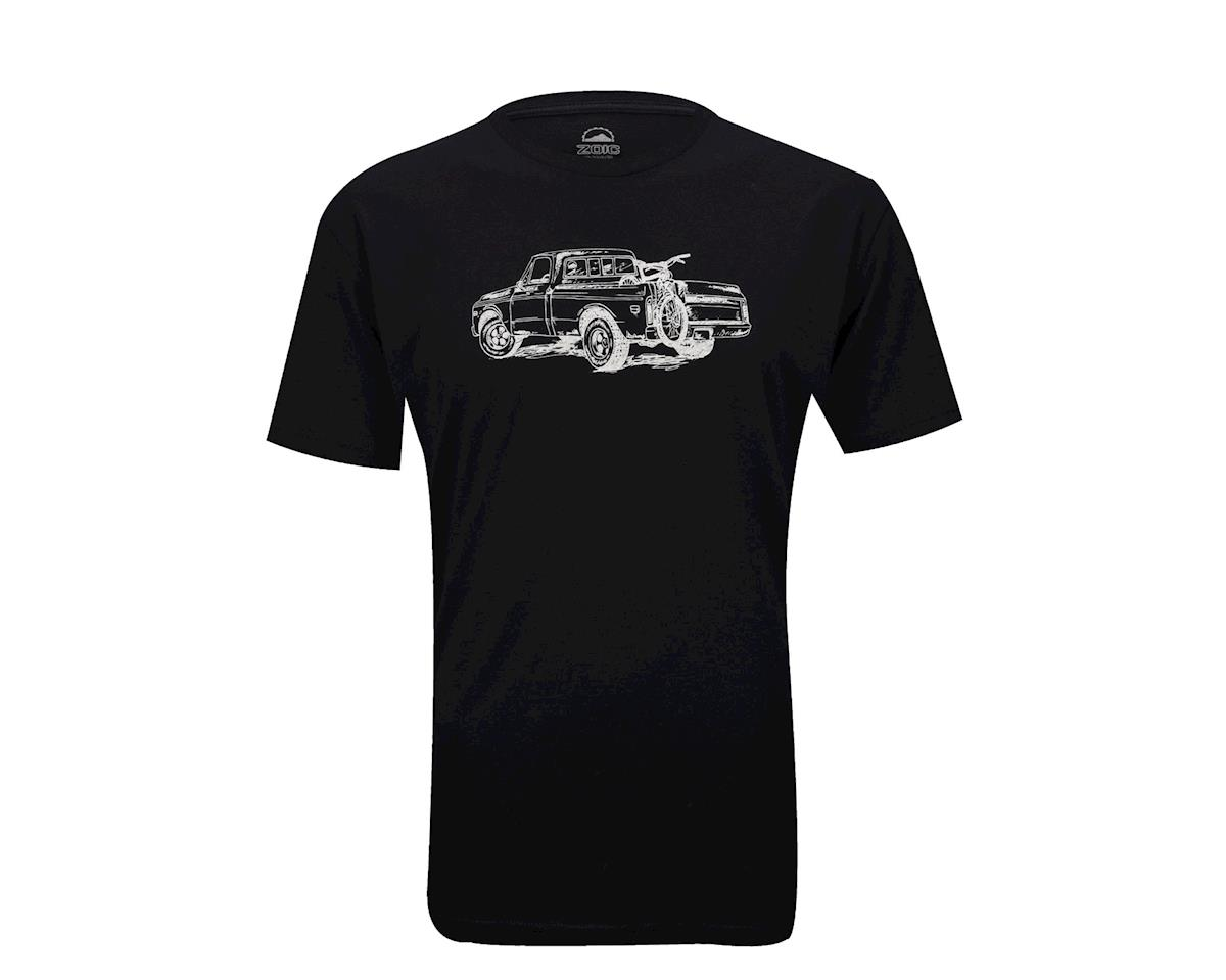 Zoic Truck Short Sleeve Tee (Black) (Xxlarge)