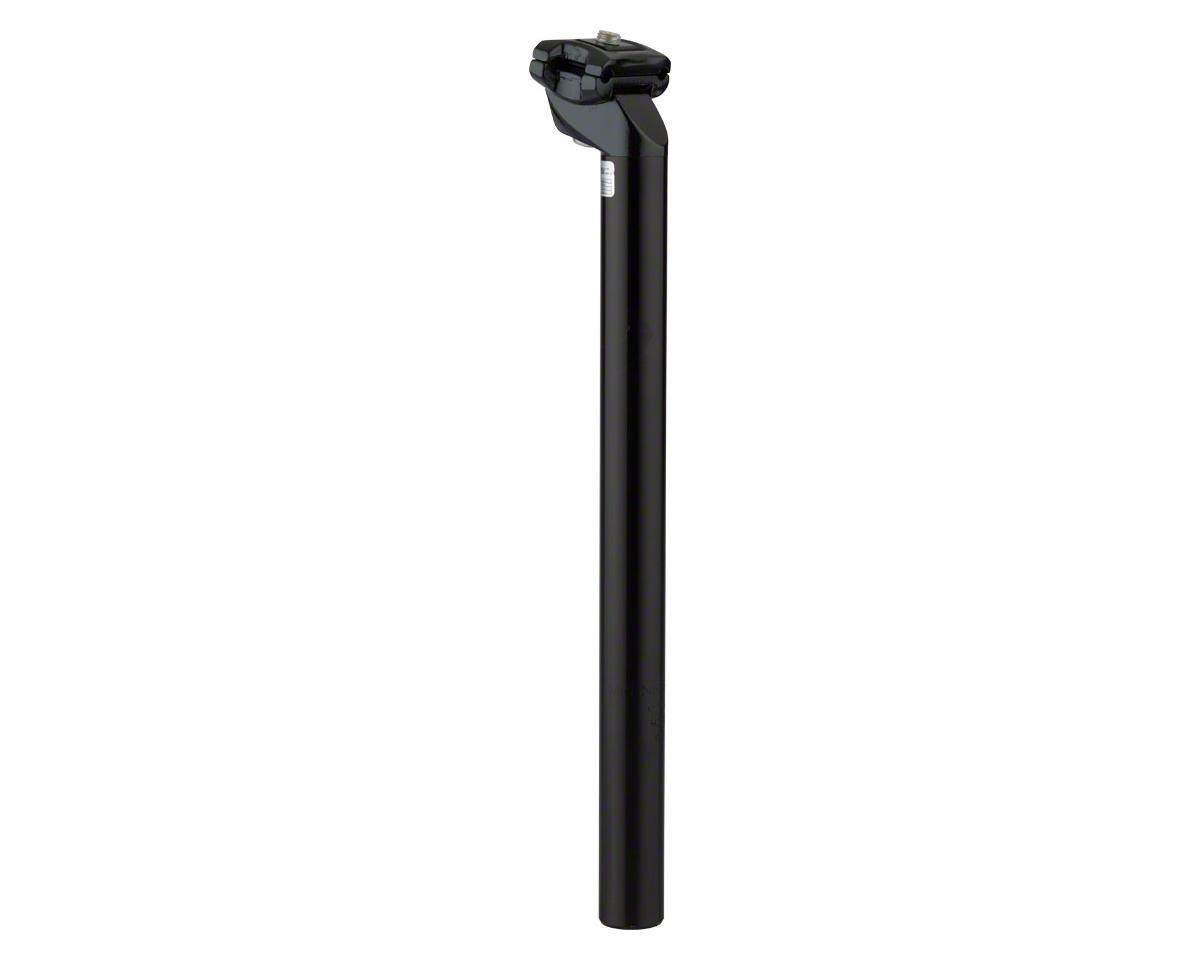 Zoom 27.2 x 350mm Black Standard Offset Seatpost