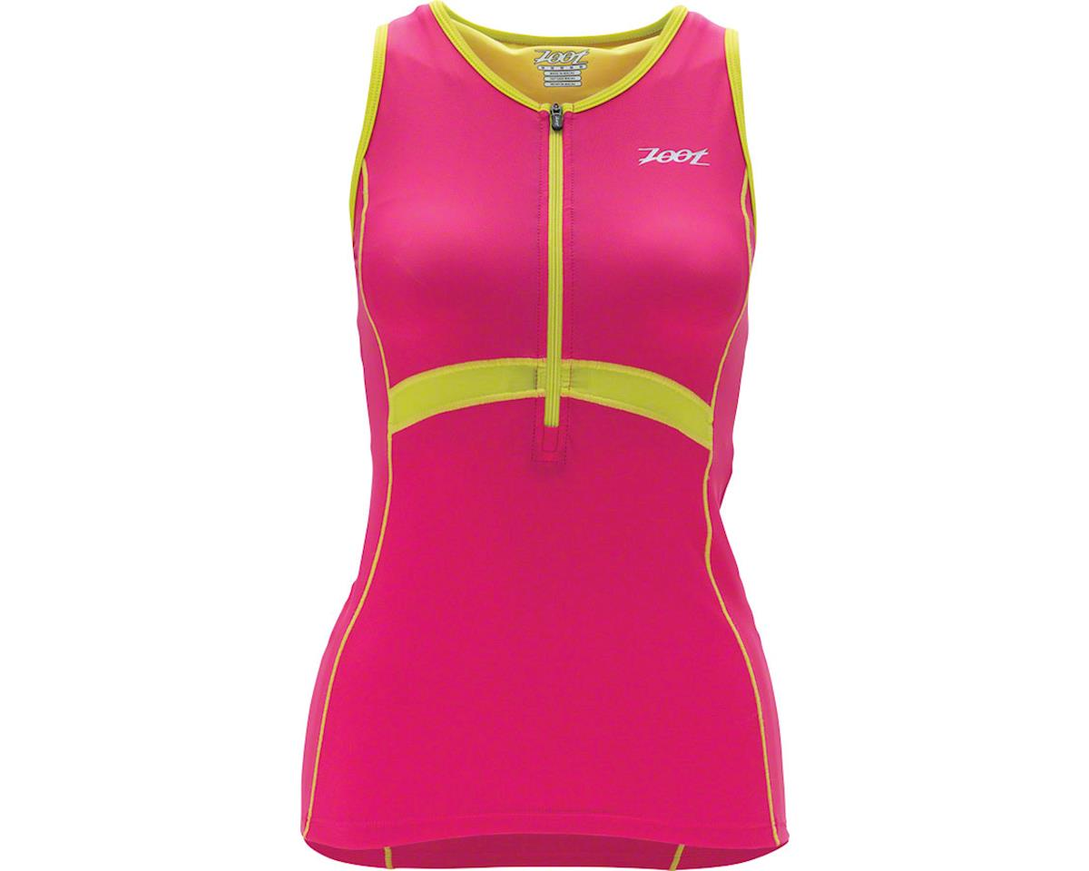 Zoot Women's Performance Tri Tank Top~ Pink~ XS (XS)