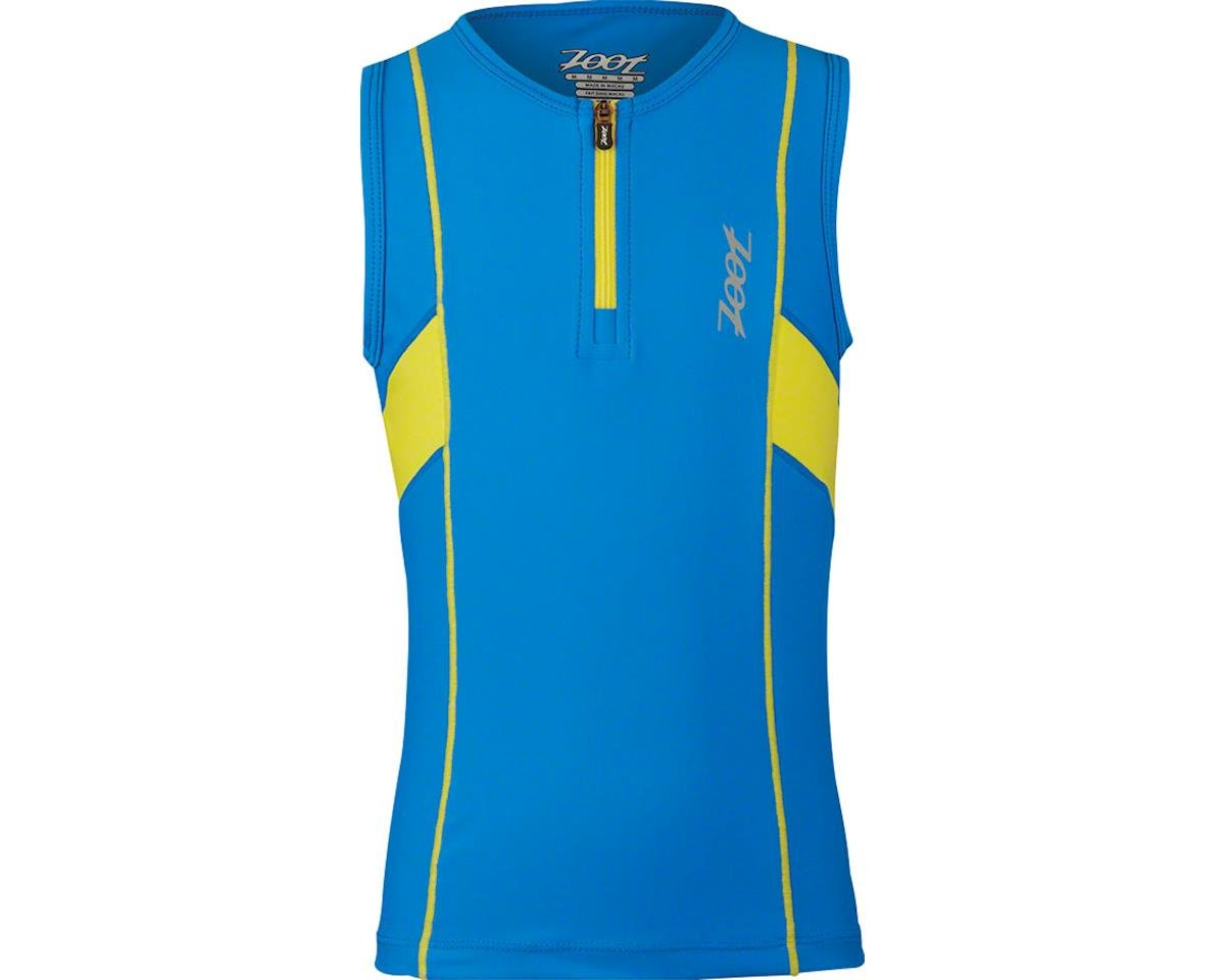 Zoot Protege Youth Tri Top: Cheveron Stripe SM