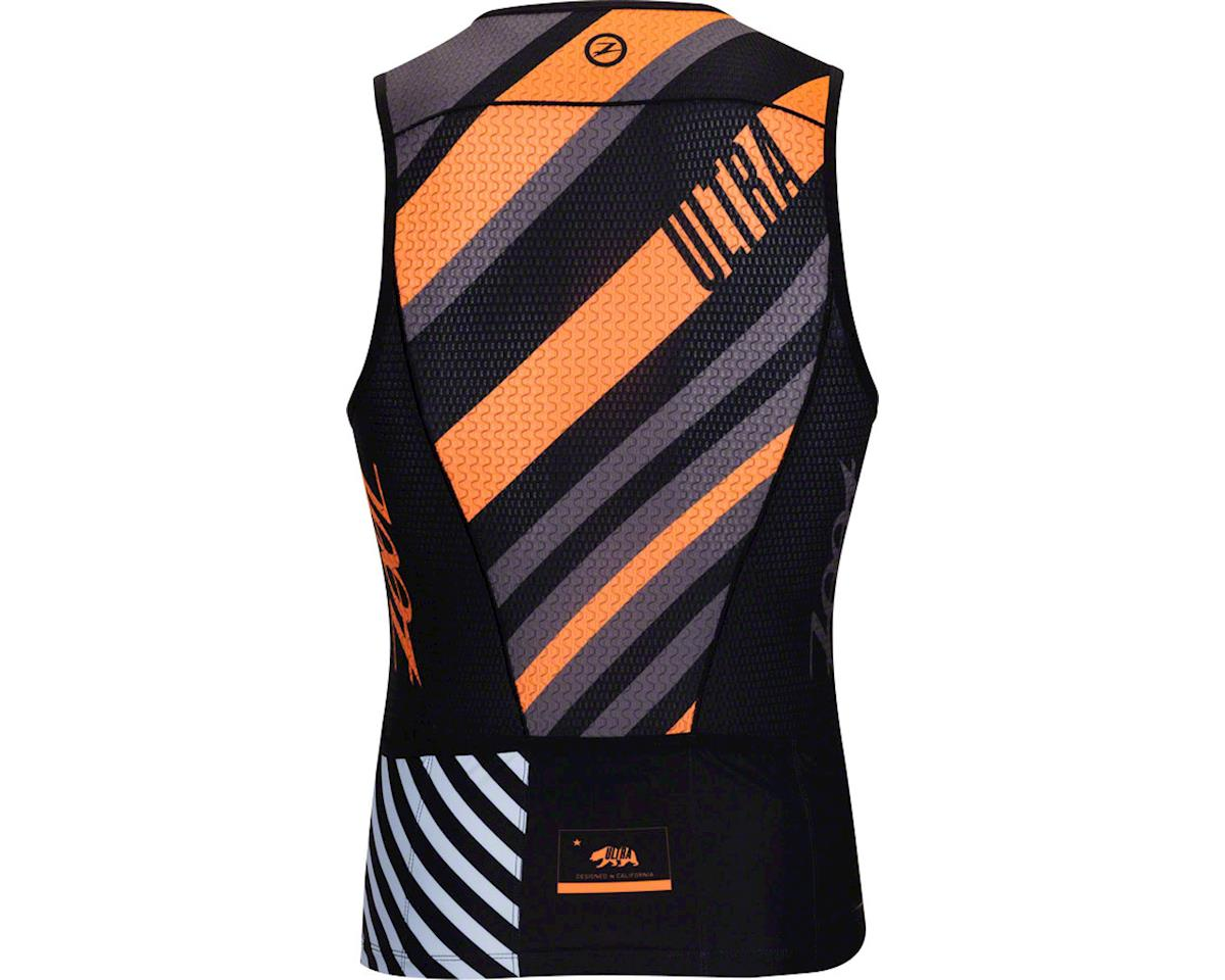 Zoot Ultra Tri Men's Tank: Racing Stripe SM (S)