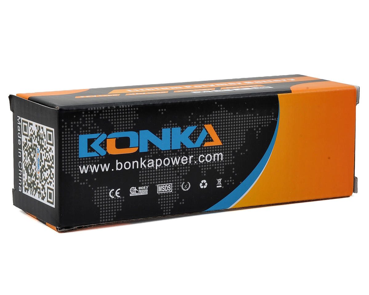 Bonka Power 4S Li-Po Battery 65C (14.8V/1300mAh) (JST-XH)