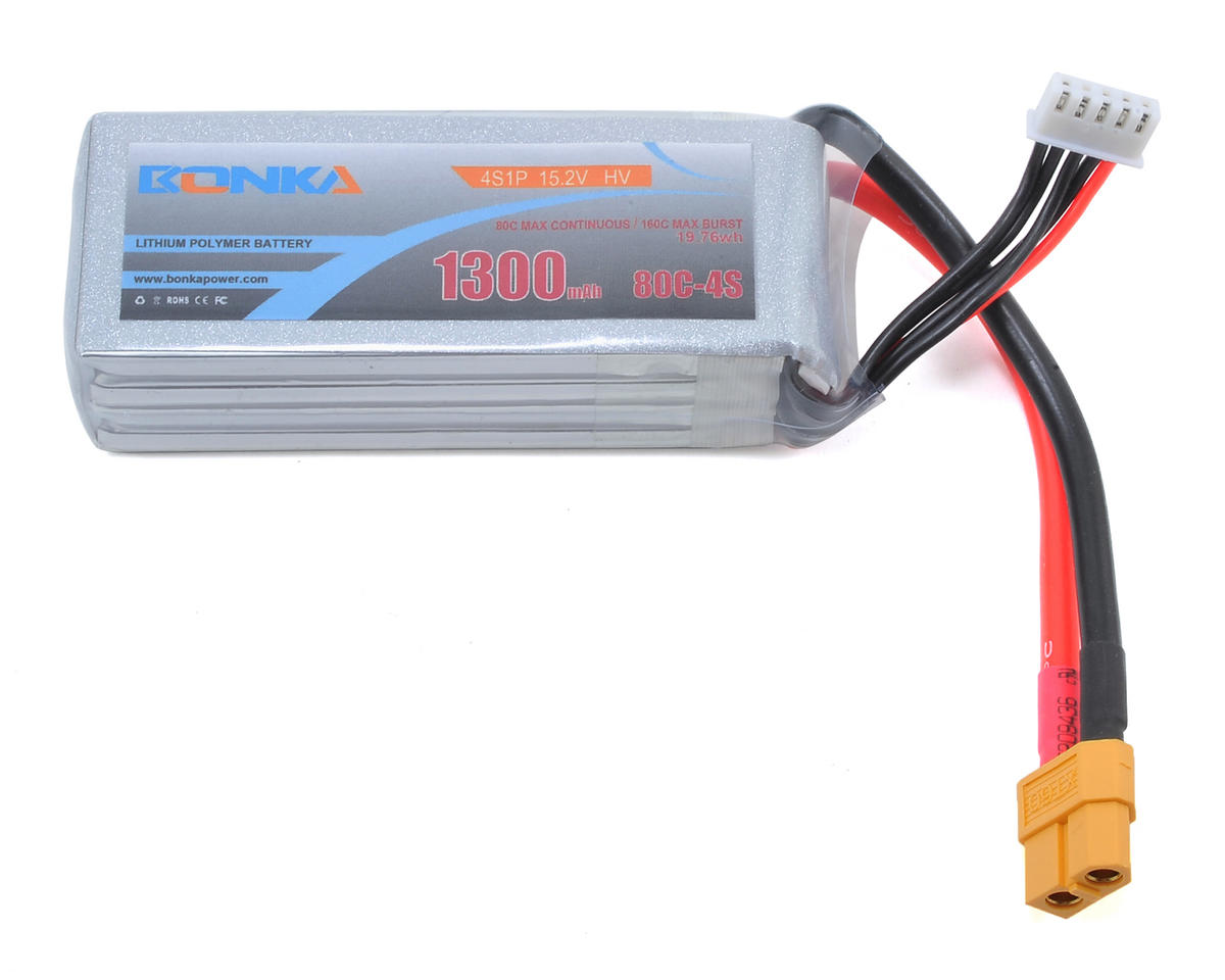 Bonka Power HV 4S Li-Po 80C (15.2V/1300mAh)
