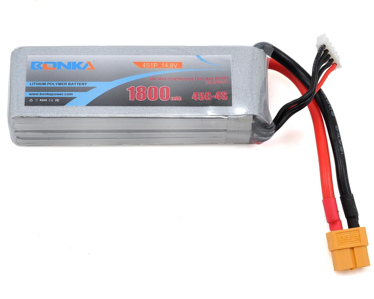 Bonka Power 3S Li-Poly Battery 45C (11.1V/1800mAh) (JST-XH)