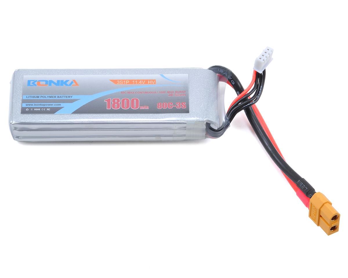 HV 3S Li-Po 80C (11.4V/1800mAh) by Bonka Power