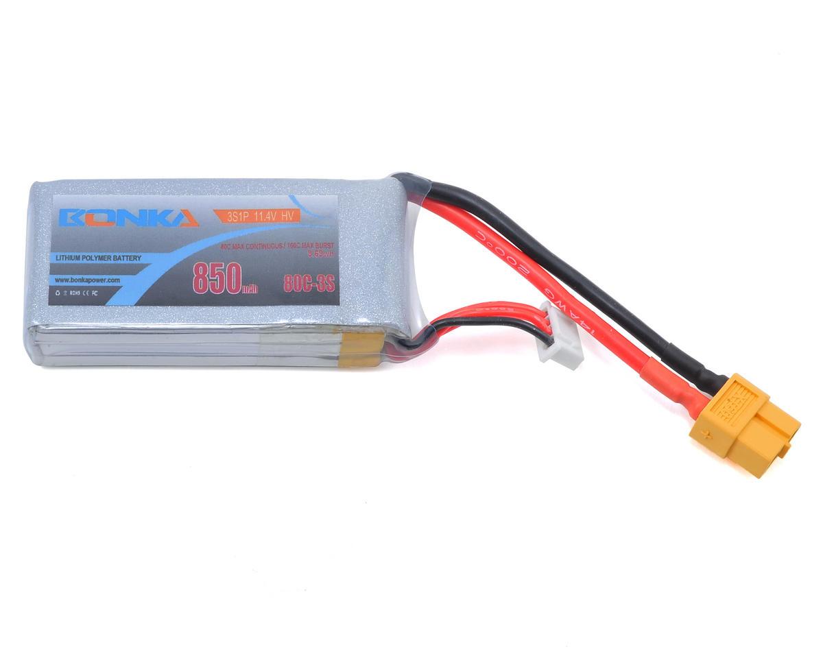 Bonka Power HV 3S Li-Po 80C (11.4V/850mAh)