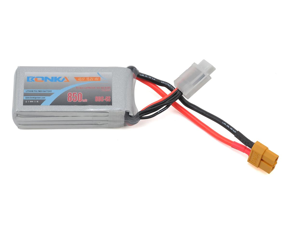 HV 4S Li-Po 80C (15.2V/850mAh) by Bonka Power