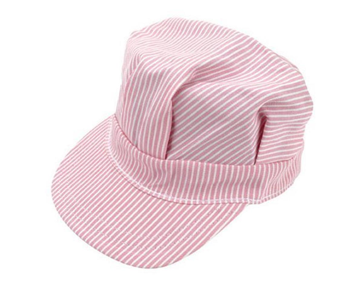 Engineer Cap, Adult/Pink by Brooklyn Peddler