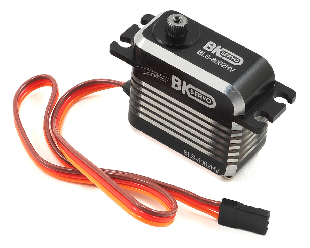 BLS-8002HV Metal Gear Brushless Cyclic Servo (High Voltage) by BK Servos