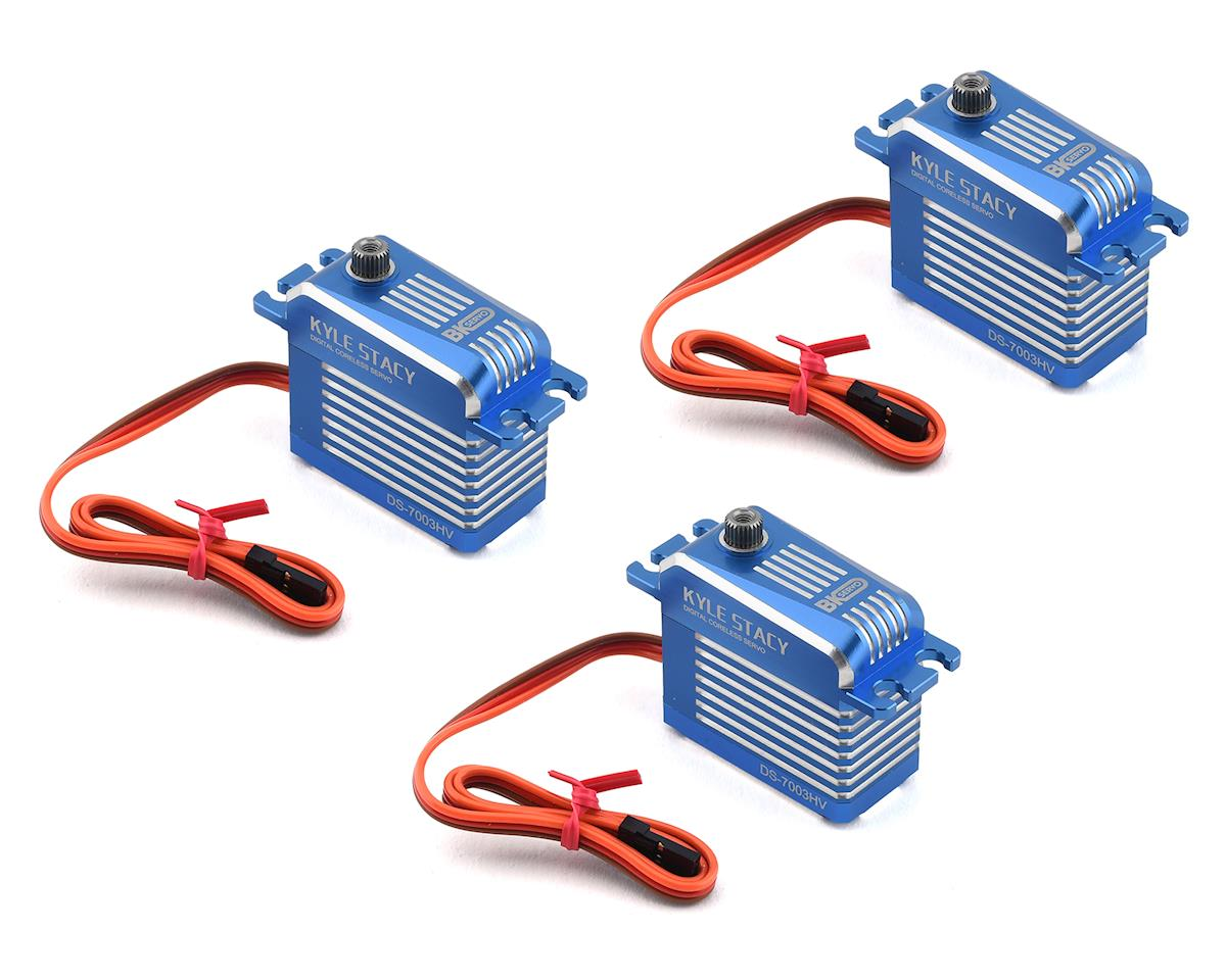 BK Servo DS-7003HV Cyclic Servo Combo Set (3)
