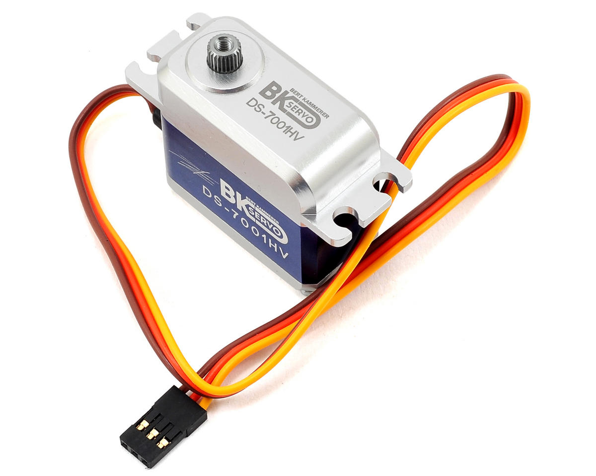 DS-7001HV High Voltage Metal Gear Digital Standard Cyclic Servo by BK Servos