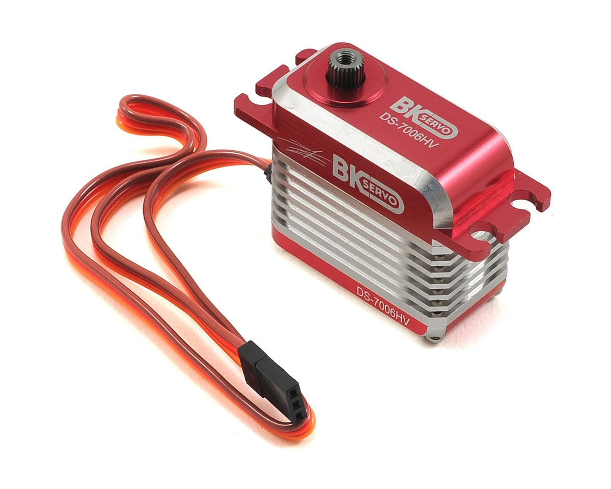 BK Servo DS-7006HV High Voltage Metal Gear Digital Full Size Tail Servo (Red)