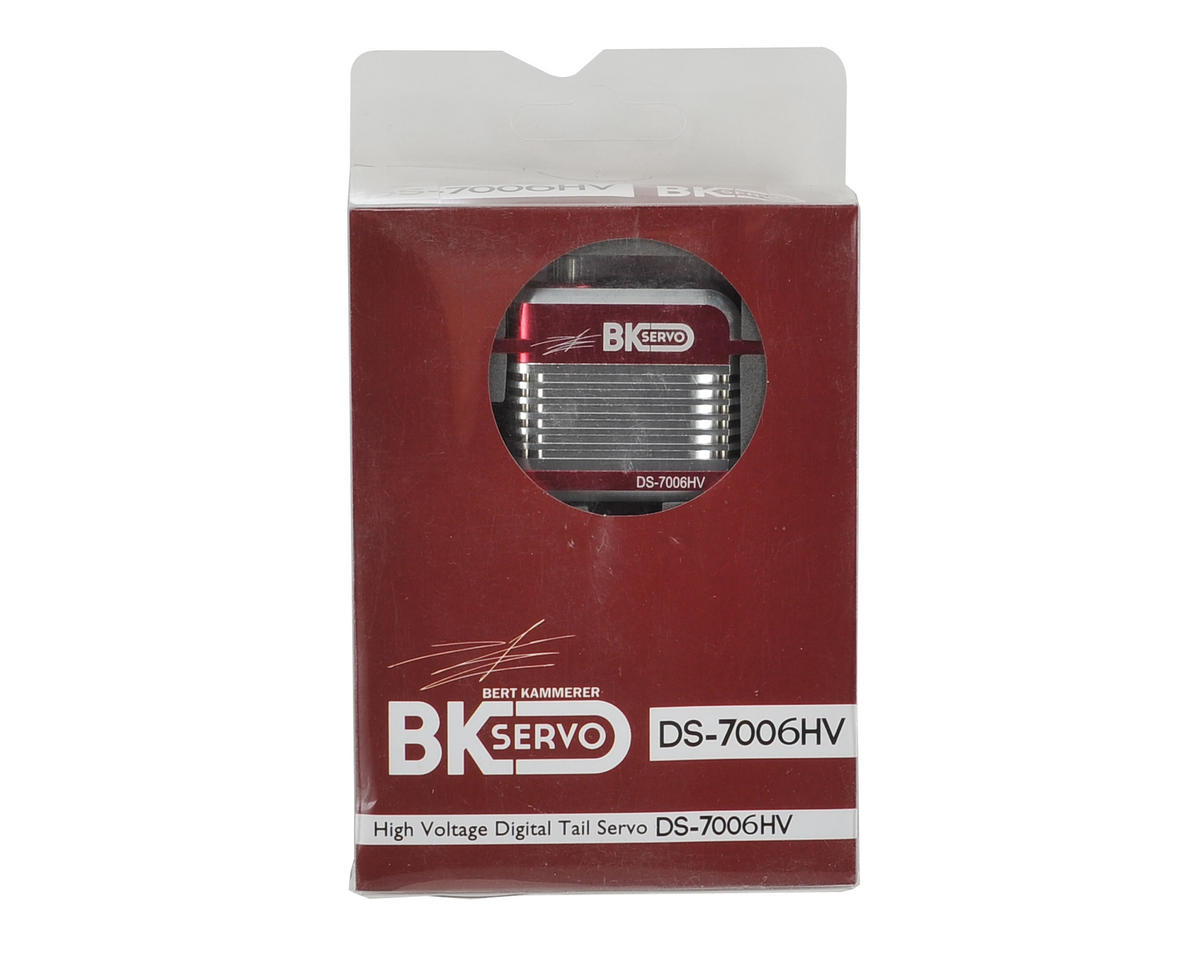 BK Servos DS-7006HV High Voltage Metal Gear Digital Full Size Tail Servo (Red)