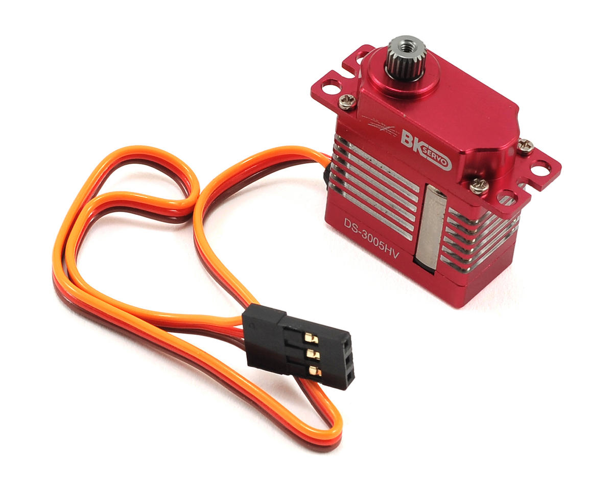 BK Servos DS-3005HV Digital Metal Gear Micro Tail Servo (High Voltage)