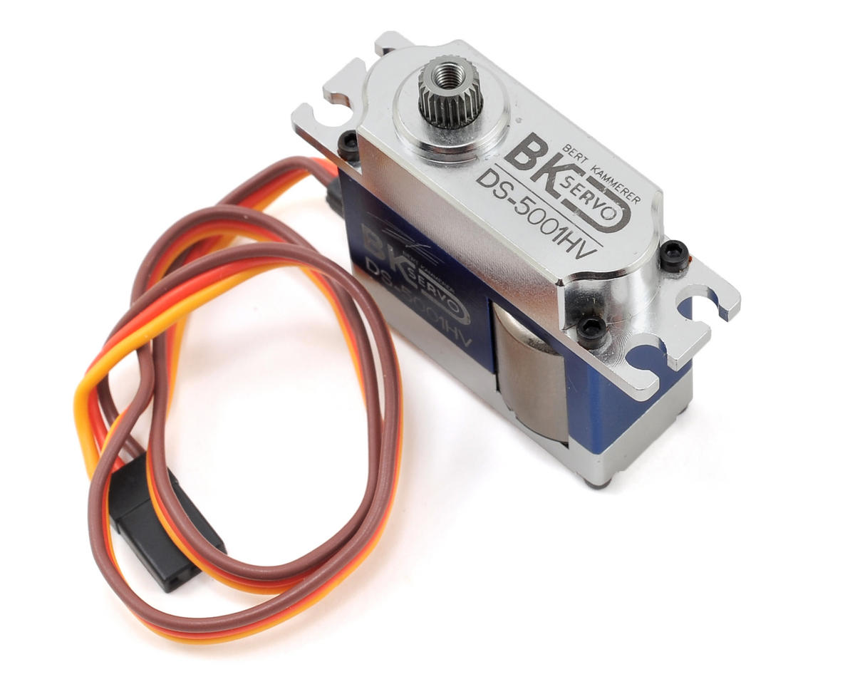 BK Servos DS-5001HV High Voltage Metal Gear Digital Mini Cyclic Servo (Blue) (SAB Goblin 500)