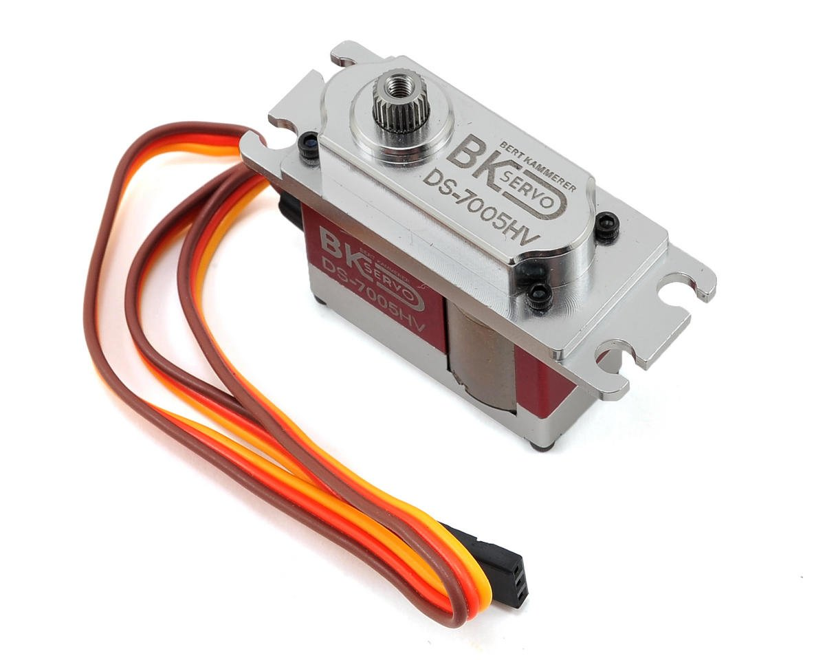 BK Servos DS-7005HV High Voltage Metal Gear Digital Multi Size Tail Servo (Red)