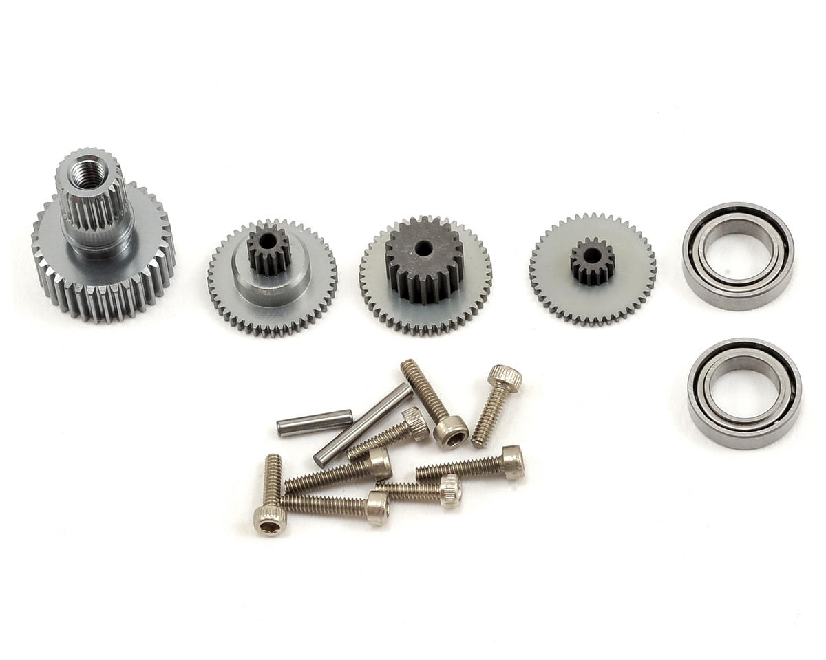 DS-5001HV/5005HV/7005HV Aluminum Mini Servo Gear Set by BK Servo