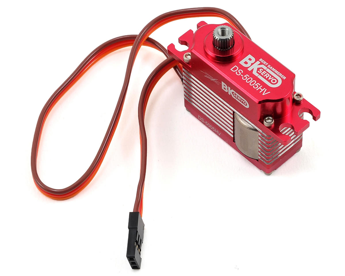 BK Servos DS-5005HV High Voltage Metal Gear Digital Mini Tail Servo
