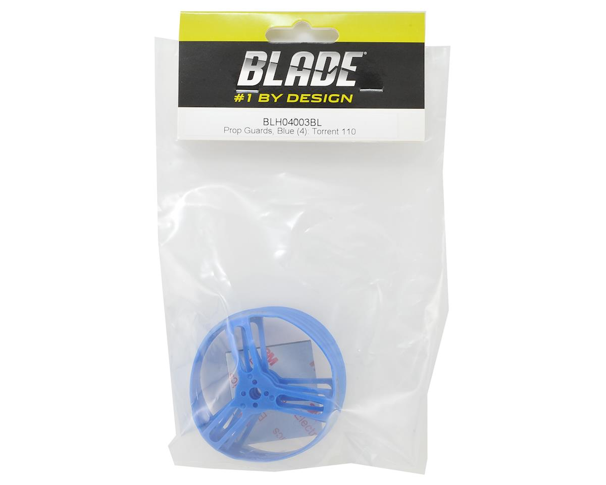 Blade Torrent 110 Prop Guards (Blue) (4)
