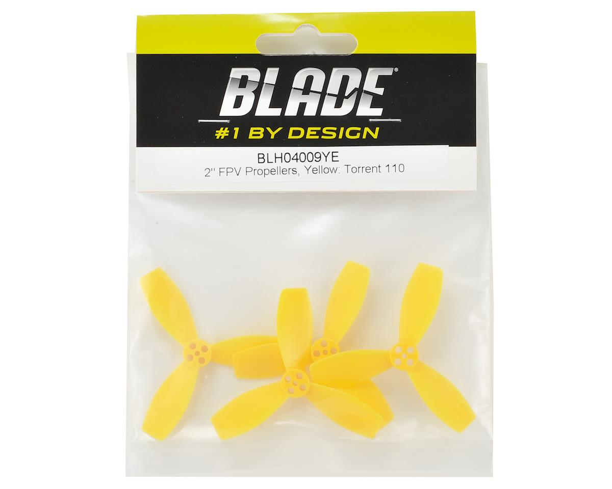 "Blade Torrent 110 2"" FPV Propellers (Yellow)"